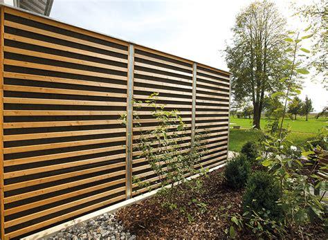 Sicht Und Schallschutz Im Garten by Garten Holz Holzterrassen Sichtschutz Schallschutz