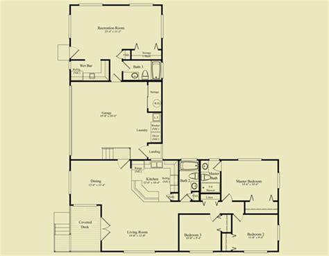 4 bedroom ranch style house plans l shaped 3 bedroom house plans homes floor plans