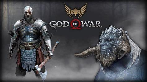 Unprecedented Images God Of War 2018 Artwork Concept Art