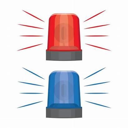 Blaulicht Grafiken Flashing Clipart Lights Sirens Warning