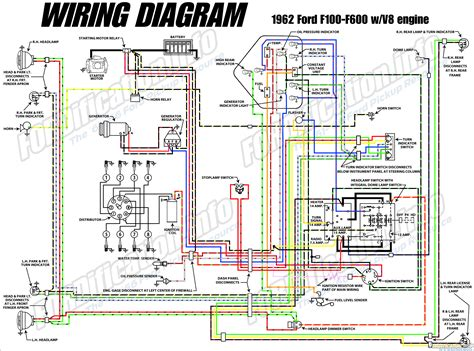 1970 Ford F600 Wiring Diagram by 1962 Ford Truck Wiring Diagrams Fordification Info The