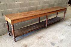 Meuble De Drapier : ancienne et grande banque table de drapier ou tapissier ~ Teatrodelosmanantiales.com Idées de Décoration