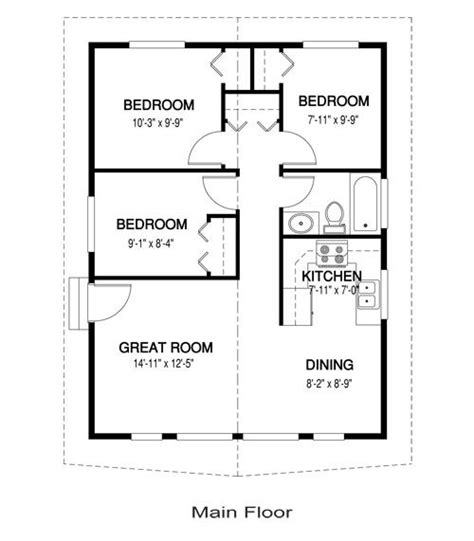 single small house plans yes you can a 3 bedroom tiny house 768 sq ft one for