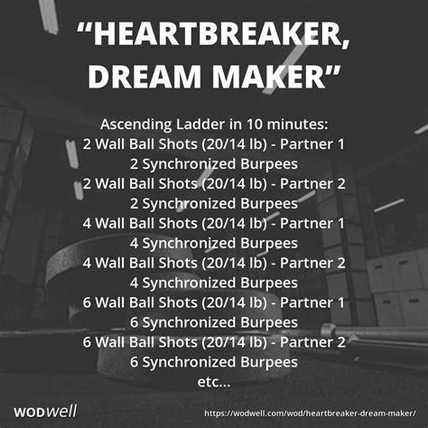 wod partner crossfit workouts ladder burpee wods workout ball wodwell kettlebell wall maker heartbreaker dream boxrox emom training circuit cardio