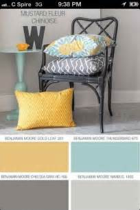Yellow Grey and Teal Living Room Ideas
