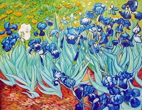 les iris de gogh
