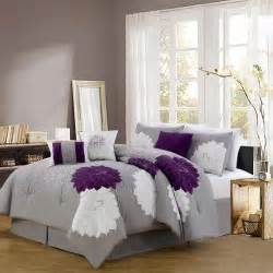 1000 images about purple and grey bedding bedroom decor on