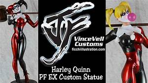 Custom Sideshow Harley Quinn EX PF Statue YouTube