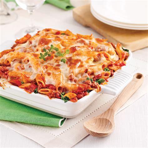 calorie gratin de pate gratin de p 226 tes sauce italienne aux tomates s 233 ch 233 es recettes cuisine et nutrition pratico