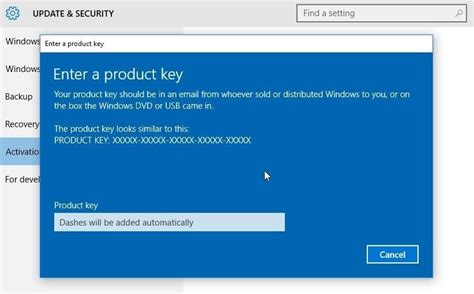 How to Activate Windows 10 with a Windows 7 or 8 Product