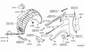 Car Fender Diagram : 63100 4ra0a genuine nissan parts ~ A.2002-acura-tl-radio.info Haus und Dekorationen