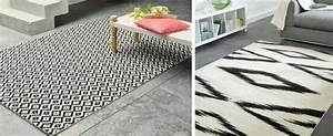 Tapis Ikea Noir Et Blanc : o trouver un tapis graphique noir et blanc joli place ~ Teatrodelosmanantiales.com Idées de Décoration