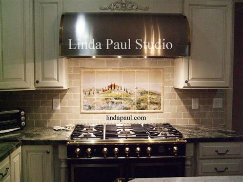 tile kitchen backsplash photos tuscan tile murals kitchen backsplashes tuscany tiles