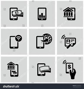 Bank Pay Rechnung : mobile banking icons set pay by stock vektorgrafik 103665620 shutterstock ~ Themetempest.com Abrechnung