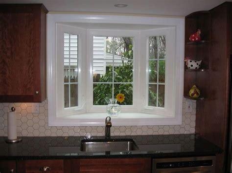 small bay window  kitchen sink kitchen bay window