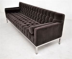Tufted baker sofa at 1stdibs for Baker furniture sectional sofa