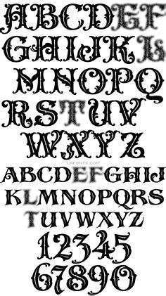 Identifont - Saloon Girl | Lettering, Graffiti font, Fonts