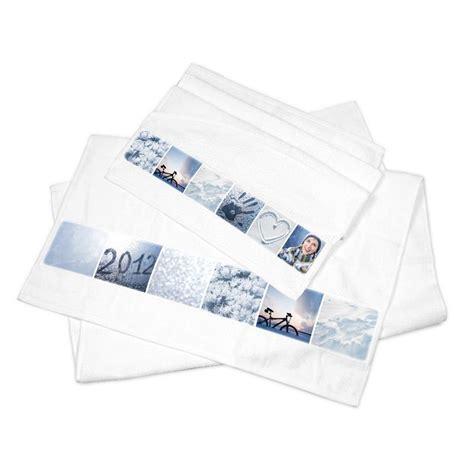 serviettes de toilette personnalis 233 es impression sur serviettes