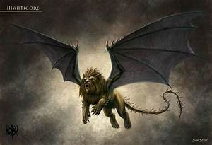 Manticore | Greek Mythology | Pinterest