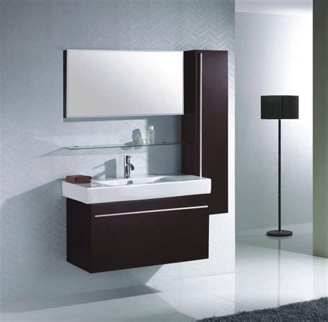 déco salle de bain avec meuble wenge