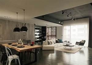 Baumstamm An Decke Befestigen : einrichtung im modernen asiatischen stil 2 interieur ideen ~ Lizthompson.info Haus und Dekorationen
