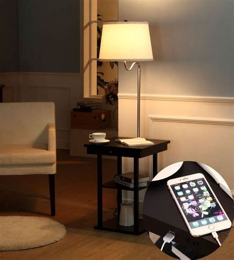 end tables with built in outlets best 25 end table with l ideas on pinterest teak