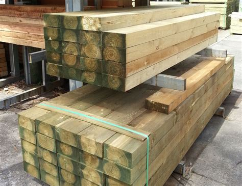 Pine Sleepers by Buy Treated Pine Sleeper H4 Cca 200mmx100mm
