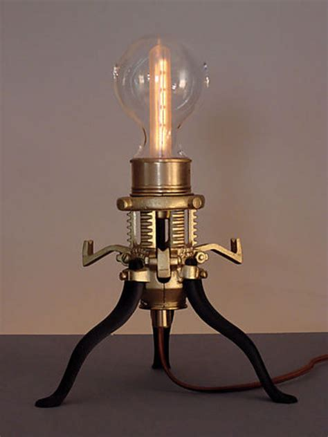 steampunk lamps boing boing