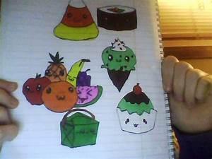 Cute Drawings of Food images