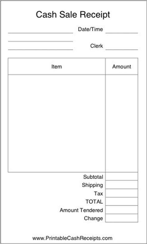 basic airy cash receipt  plenty  room  write