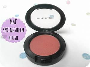 MAC Springsheen Blush | Tattooed Tealady