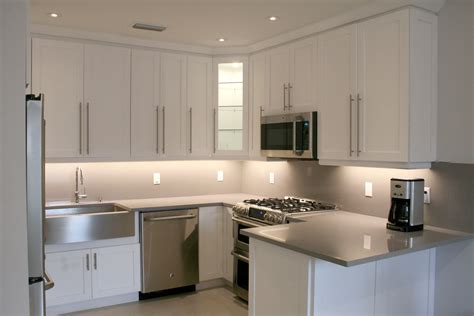 previously enclosed kitchen remodeled  modern style