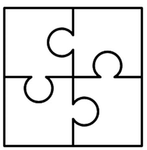 4 puzzle template create puzzle pieces in powerpoint the powerpoint