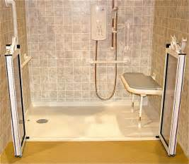 Handicapped Accessible Bathroom Plans by Roll In Shower Handicapped Ada Shower Traditional