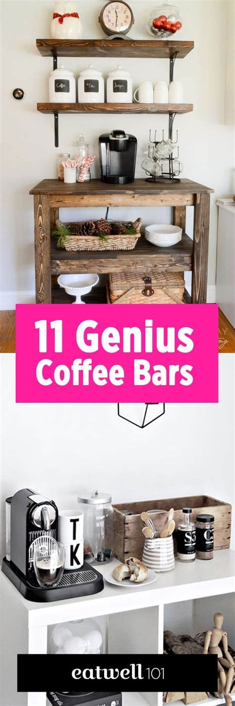11 Genius Ways to DIY a Coffee Bar at Home ? Eatwell101