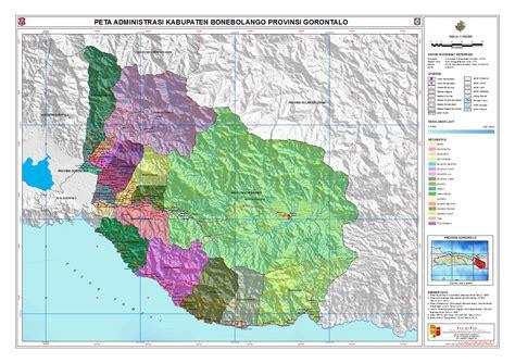 administrasi kabupaten bonebolango peta tematik indonesia