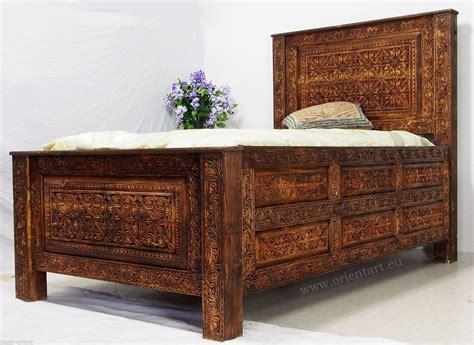 Betten Antik Look by 200x120 Cm Antik Look Massivhloz Bett Kolonialstil Mit