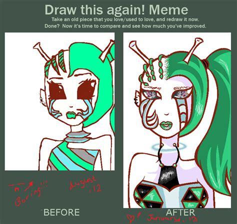 Drawing Meme - drawing meme 2 by pinkpopcornwithsoda on deviantart