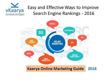 Increase Search Engine Ranking by Tips To Improve Search Engine Ranking Authorstream