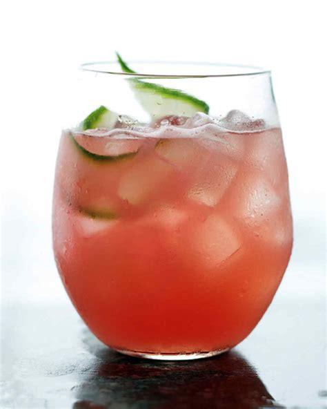 most pinned summer cocktail recipes martha stewart