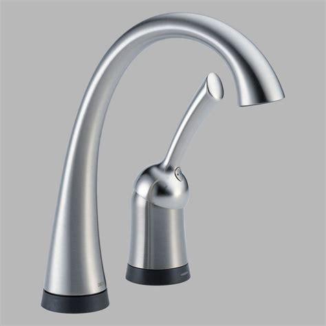 delta pilar kitchen faucet delta pilar 1980 single handle bar prep faucet with touch2o technology