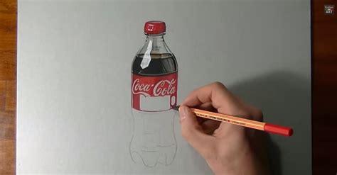 si e coca cola disegnare dipingere la coca cola tutorial stile arte