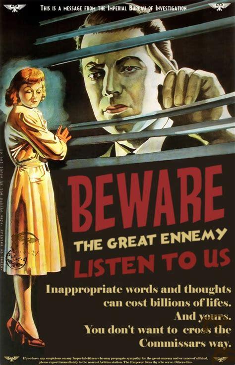 imperial propaganda image warhammer  fan group mod db
