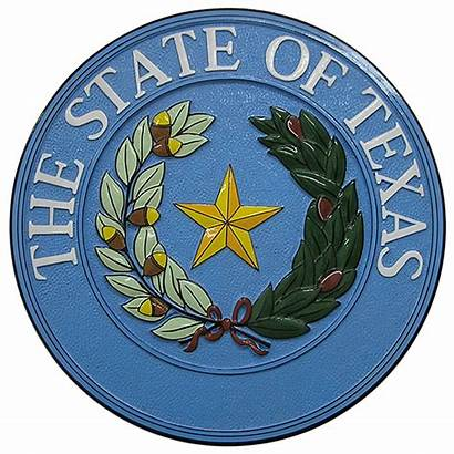 Seal Texas State Plaque