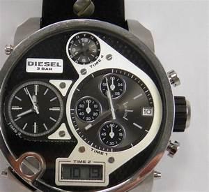 Montre Homme Diesel 2016 : chronographe diesel big daddy dz7125 montre bracelet pour homme catawiki ~ Maxctalentgroup.com Avis de Voitures