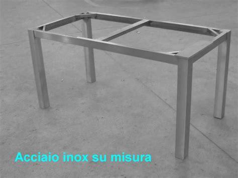 struttura tavolo tavolo inox satinato su misura struttura tubo photo