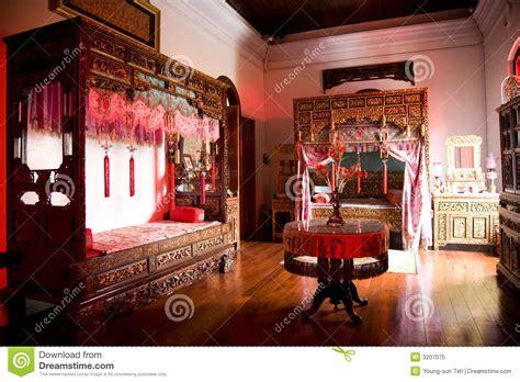chambre chinoise vieille chambre chinoise de mariage image stock image du