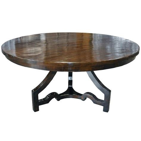 Dining Table Round Dining Table Distressed