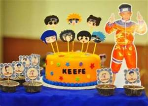 Naruto Anime Birthday Party | Tip Junkie