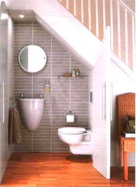 Decorating Ideas For Stairs Toilet the 25 best bathroom stairs ideas on